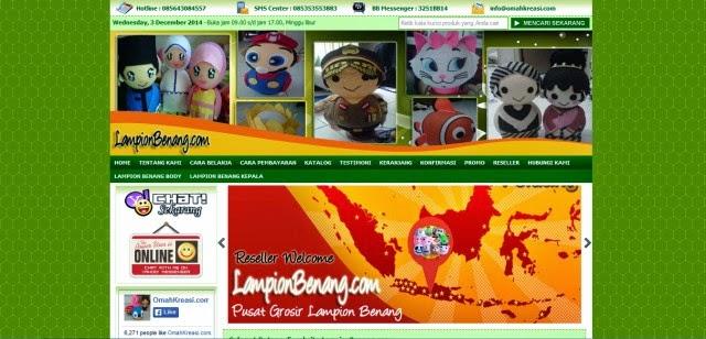 Lampionbenang.com Jual Lampu Hias Murah Terpercaya