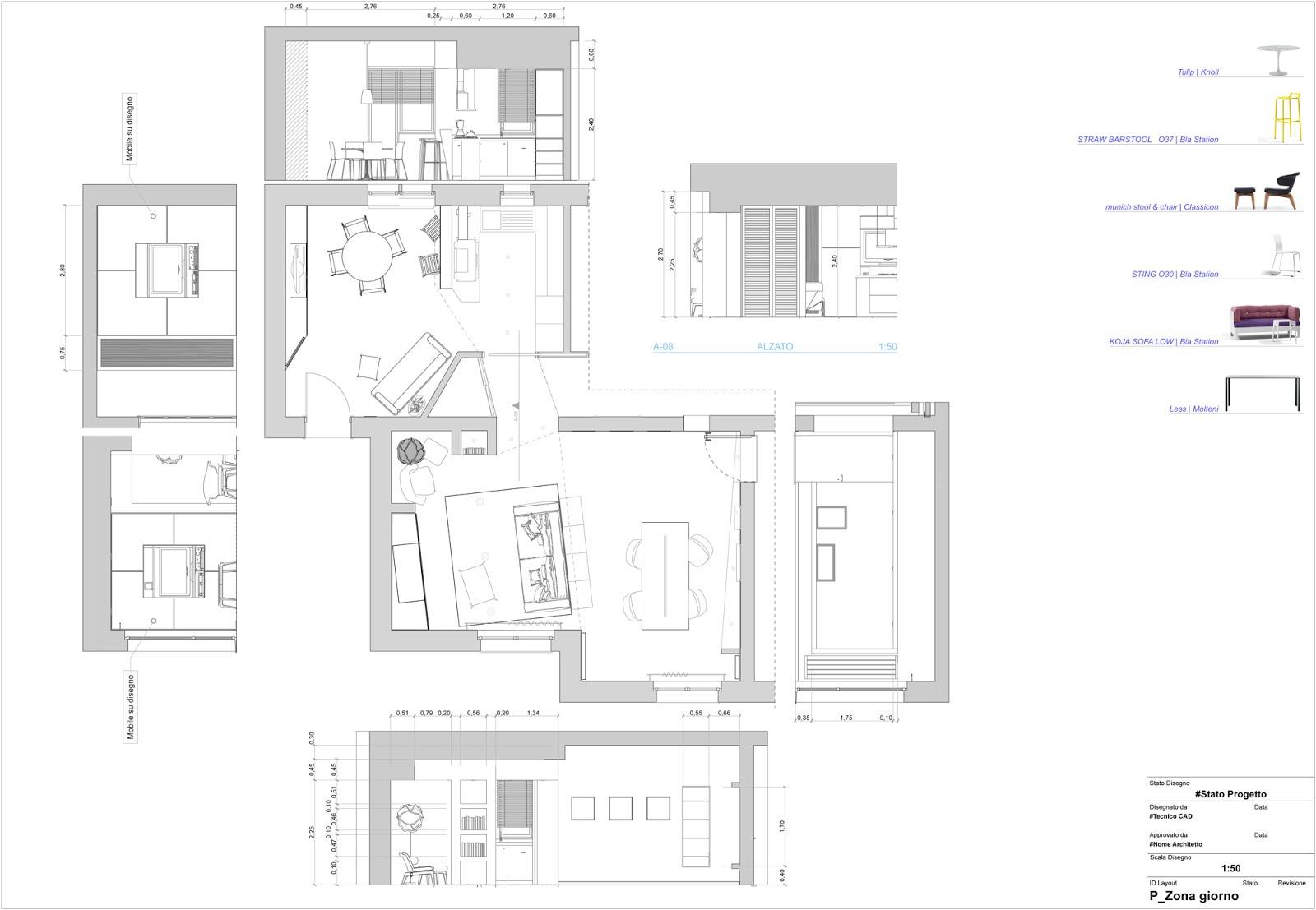 Ferretti studio ristrutturazione appartamento residenziale for Progetto di ristrutturazione