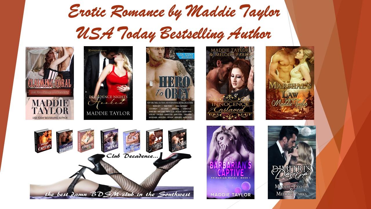 Maddie's Erotic Romance