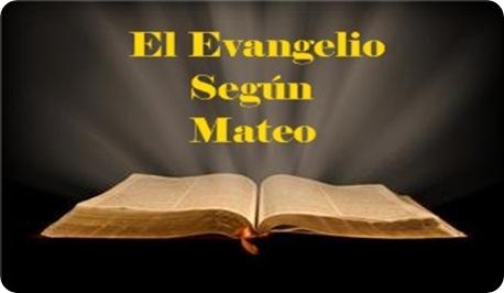 evangelio mateo: