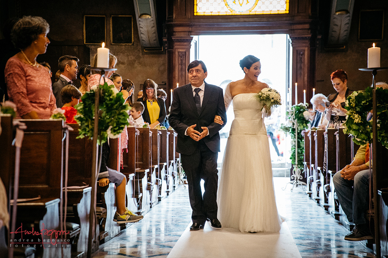 ingresso sposa chiesa matrimonio
