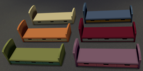 My Sims 4 Blog: Kids Bed Frame and Mattress Recolors by ...