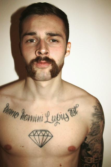 Mo Bro Movember Flussperle Wilkinson Hogan Moustache Tattoo