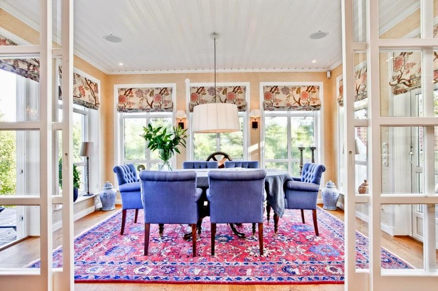 wystrój wnętrz, wnętrza, home decor, dom, mieszkanie, styl tradycyjny, styl klasyczny, białe wnętrza, jadalnia