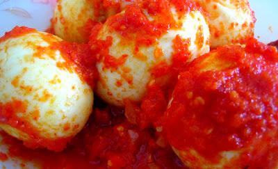 Resep dan cara memasak Telur Balado