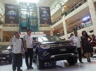 Fitur Baru New Mitsubishi Pajero Sport V6 Bensin 2014