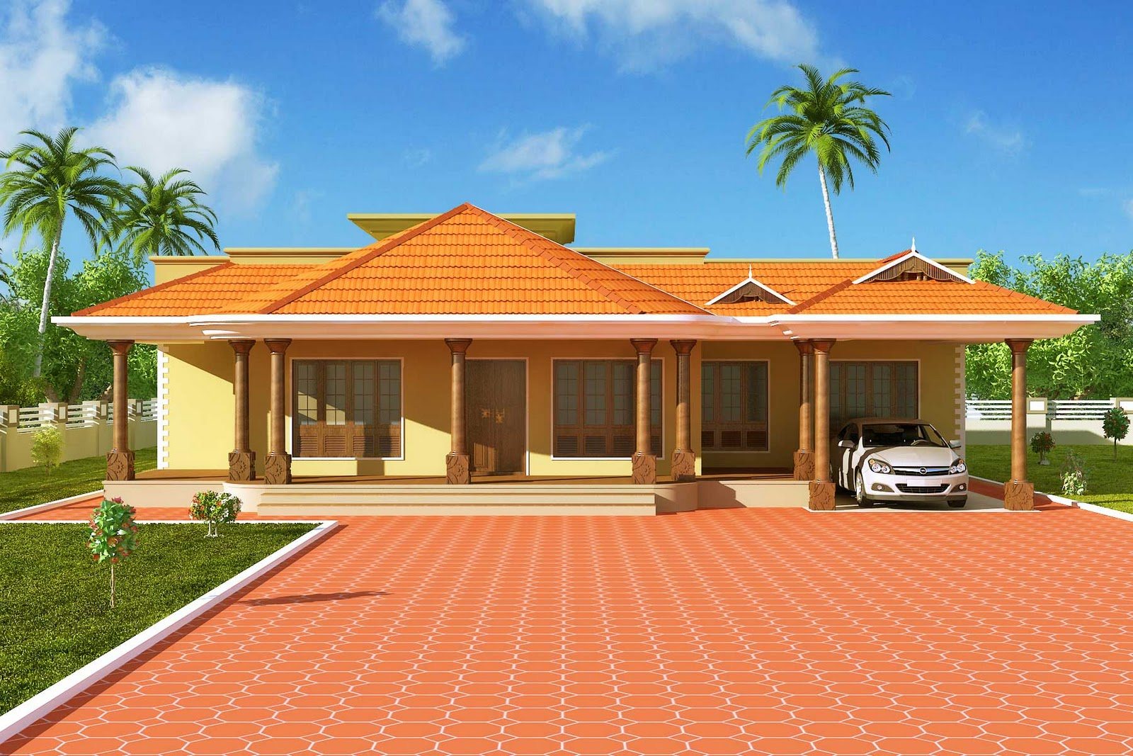 Latest home designs elevation photos at joystudiodesign for Latest kerala home designs