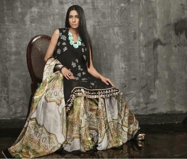 Ruby Shakeel Silk Eid Collection 2014