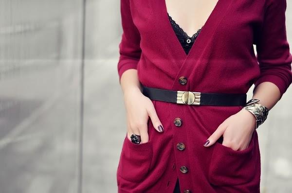 burgundy gold