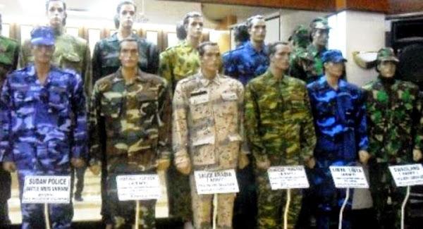 Seragam Militer Produksi PT Sri Rejeki Isman Tbk (Sritex). PROKIMAL ONLINE Kotabumi Lampung Utara