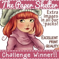 I Won At The Paper Shelter - Aug 2016