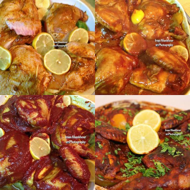 طريقة عمل الدجاج المشوي بالثوم والزبادي