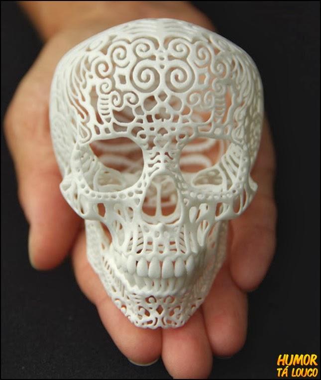 21 peças de arte feitas com uma impressora 3D