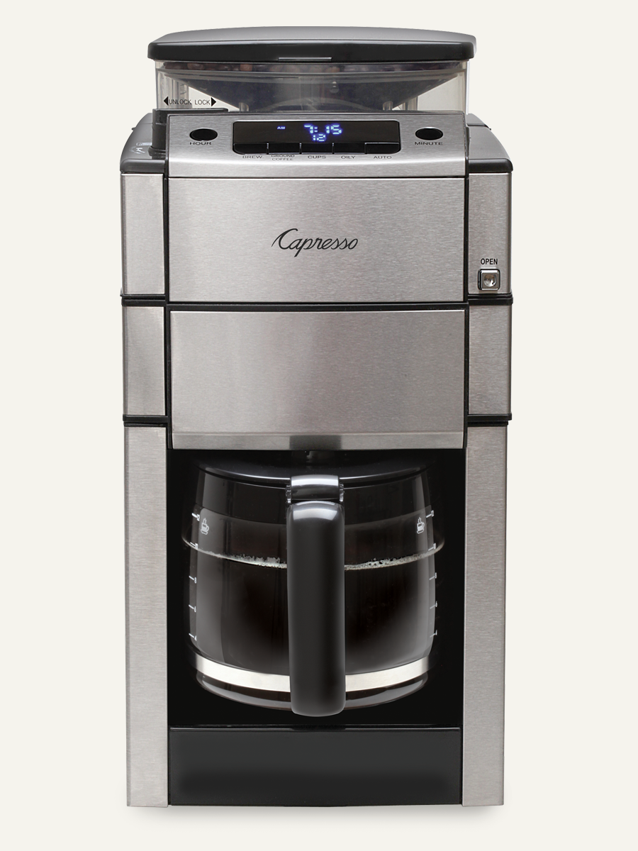 Coffee Maker Built In Grinder Reviews : Finest Coffee Maker with Grinder ? Bunn Coffee Maker Review