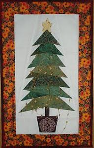 Sal Mini Quilt de Navidad