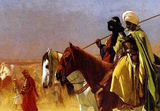 Askar Arab berkuda