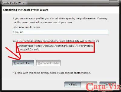 Cara Membuat Profil di Firefox