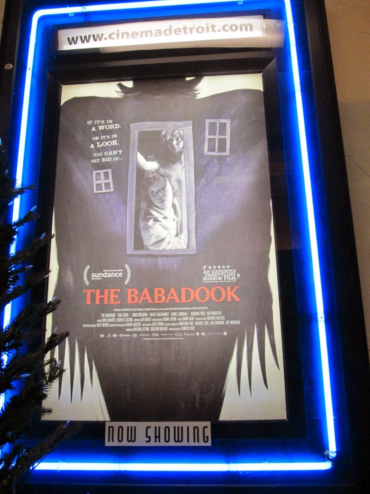 The Babadook At Cinema Detroit