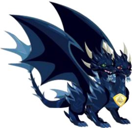imagenen del dragon oscuro puro