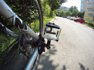 GoPro on Mountain Bike
