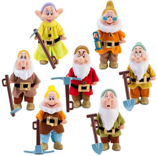 7 dwarfs names decribe each one