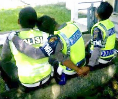 Foto Narsis Polisi Indonesia