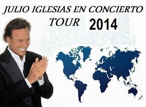 CONOCE LA GIRA DE JULIO IGLESIAS 2014