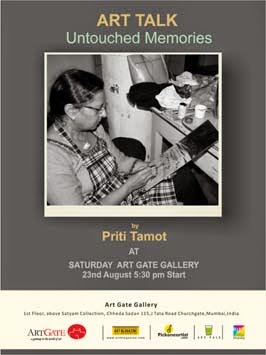 ART TALK by Priti Tamot