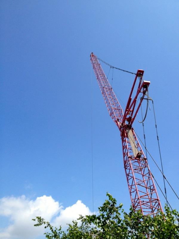 Now This Life - High Line - New York City - Crane