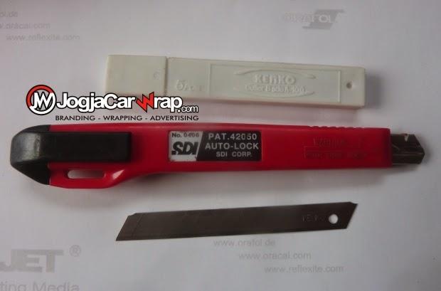 Cutter Sdi Kenko Alat Memotong Sticker Mobil