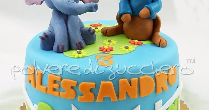 Torta gli amici di winnie pooh effy e ro in pasta di for Decorazione torte e cupcake