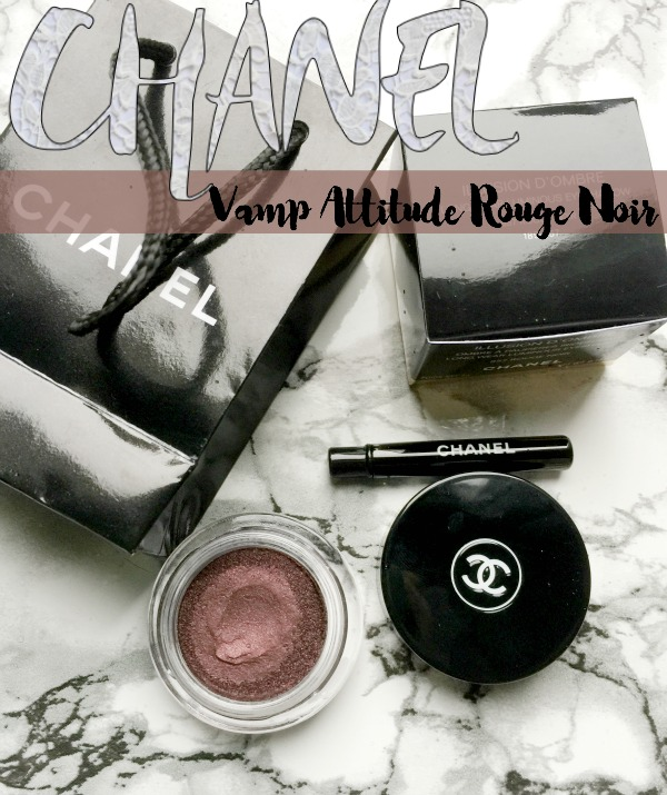Chanel Holiday Vamp Attitude Rouge Noir Shadow
