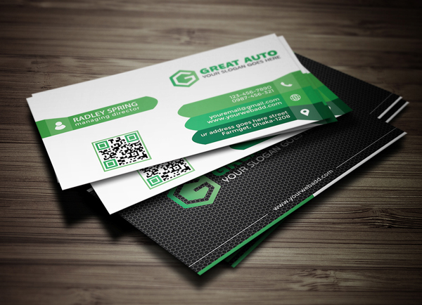 Free creative business card template freebies psd wajeb Image collections