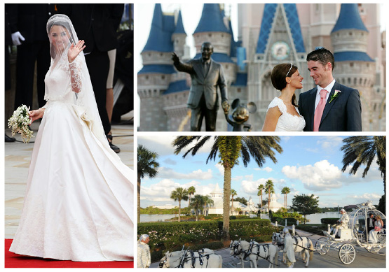 Photo Credits Kate Middleton via New York Magazine Disney World Wedding
