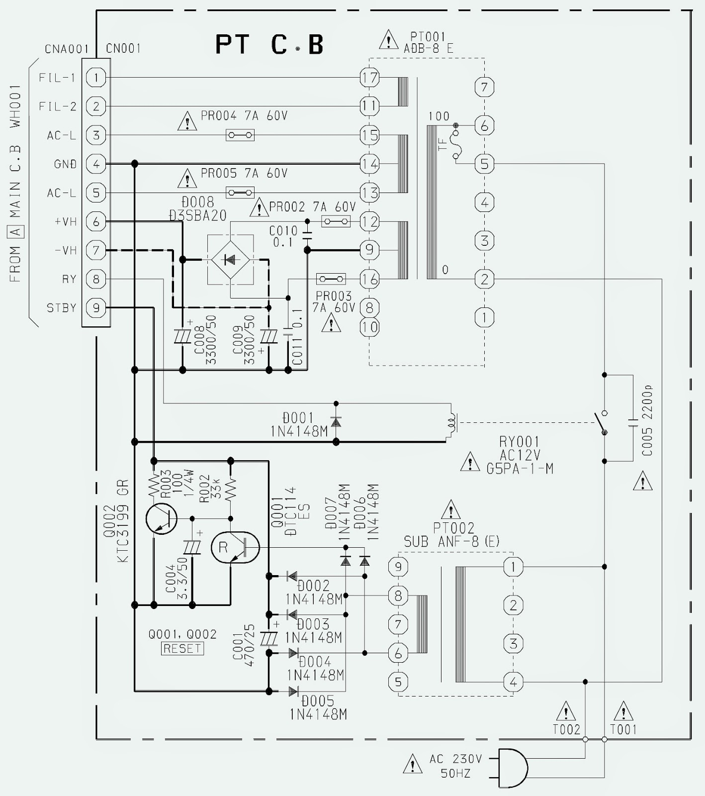 4 power.bmp aiwa xr hg5md md cd stereo system _ circuit diagram electro help aiwa cdc-x144 wiring diagram at bayanpartner.co