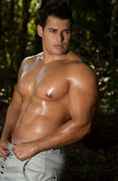 Ron Melendez Shirtless