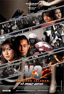 V3: Samseng Jalanan (2010) DVDRip 265MB