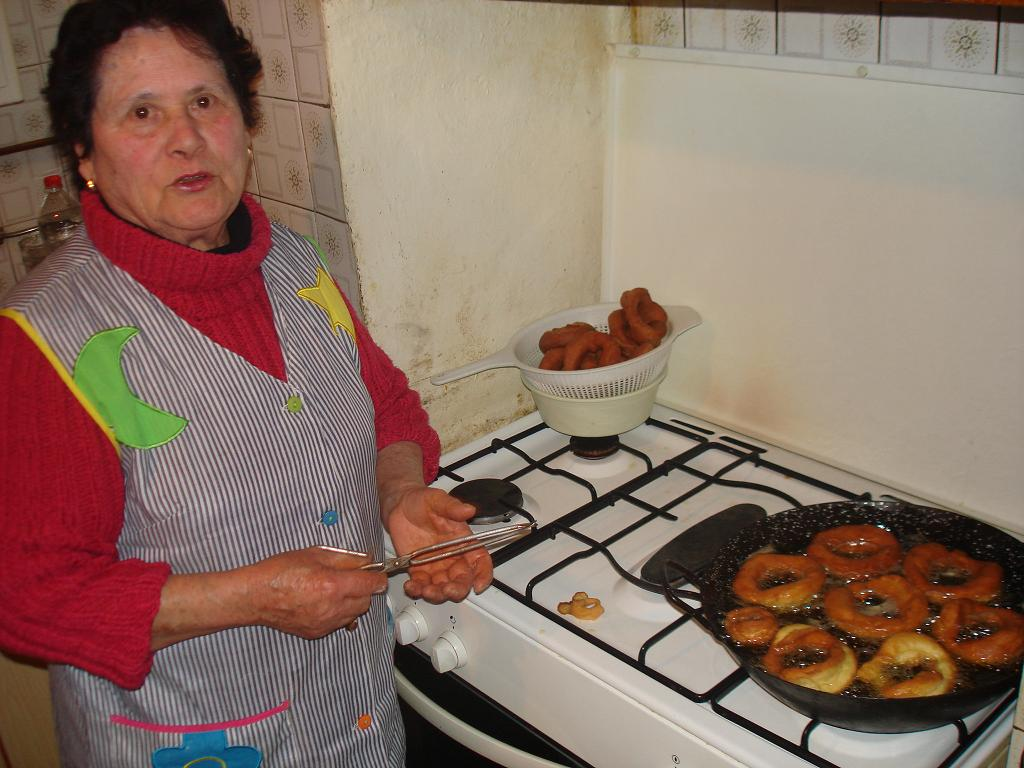 Roscos fritos de semana santa sin lactosa de mi comadre Pilar