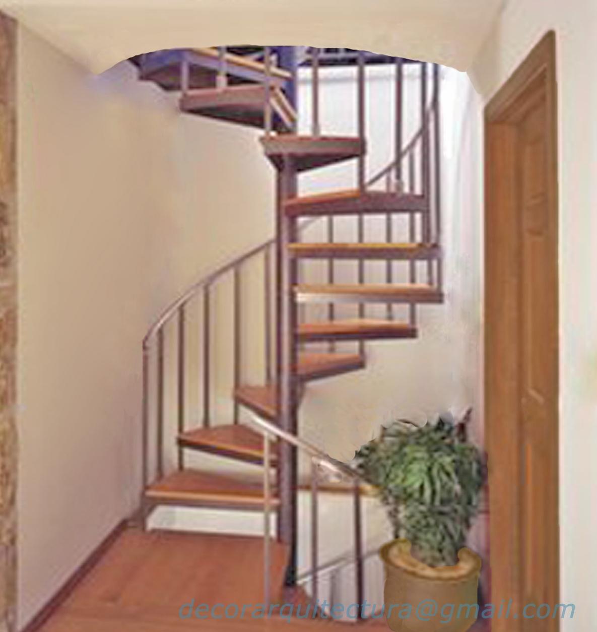 Decoración y Arquitectura: Escaleras de Caracol- Spiral Stairs.