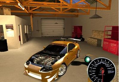 of GTA: San Andreas, you can try out the latest Toyota Supra D1GP mod