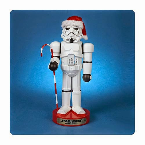 Stormtrooper with Candy Cane Star Wars Nutcracker by Kurt S. Adler