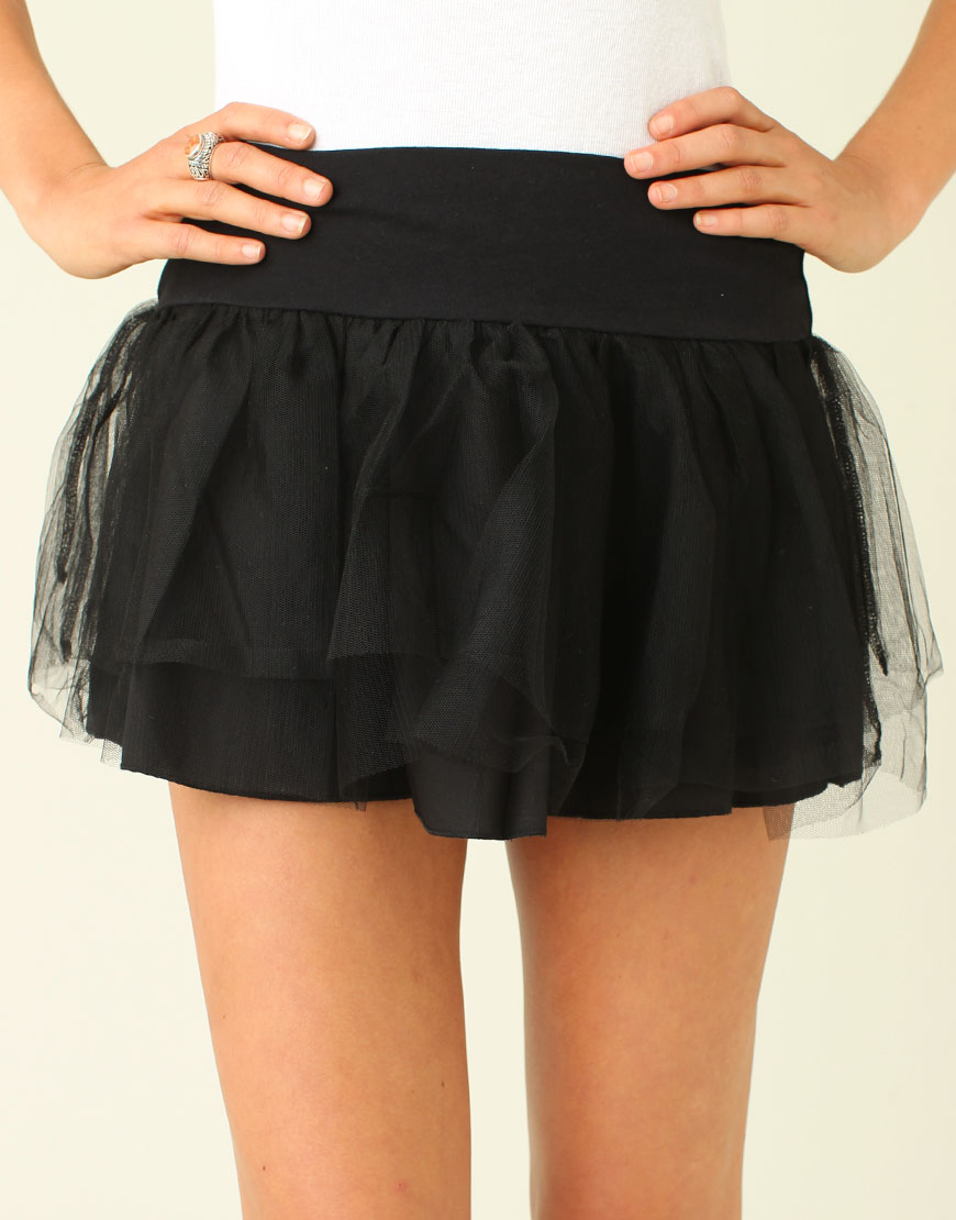 1001 fashion trends: Lace skirts