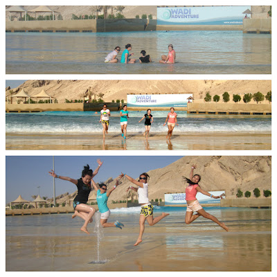 Wadi Adventure crazy bunch at surfpool