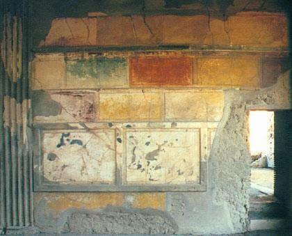 I quattro stili pompeiani archeo immapaola for Stili di casa americani