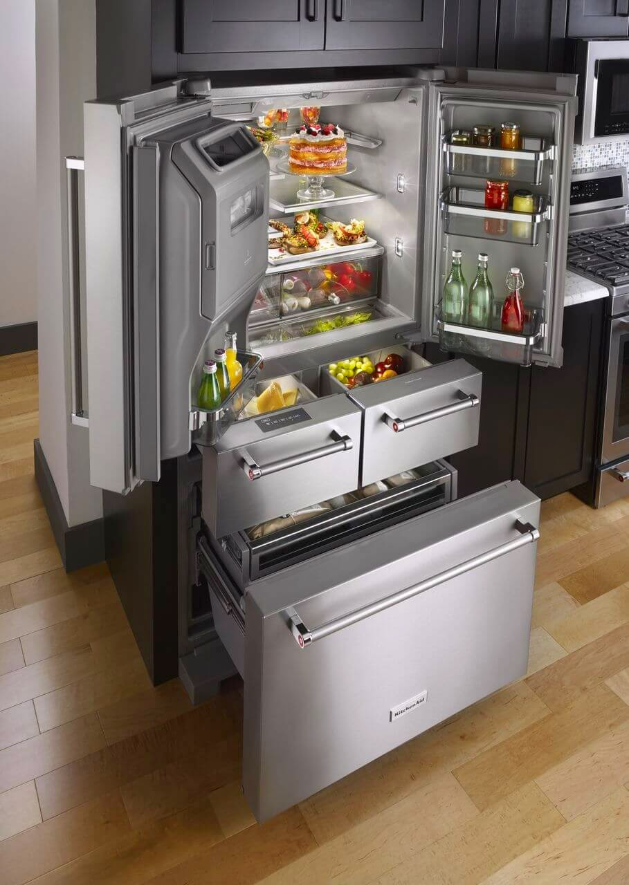 Uncategorized Kitchen Aid Appliance Reviews awesome kitchenaid french door refrigerator reviews contemporary 2015 5 fridge informative kitchen appliance reports