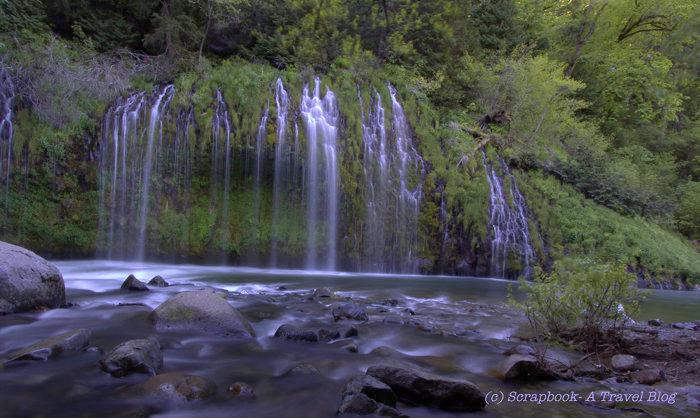 Mossabre waterfalls