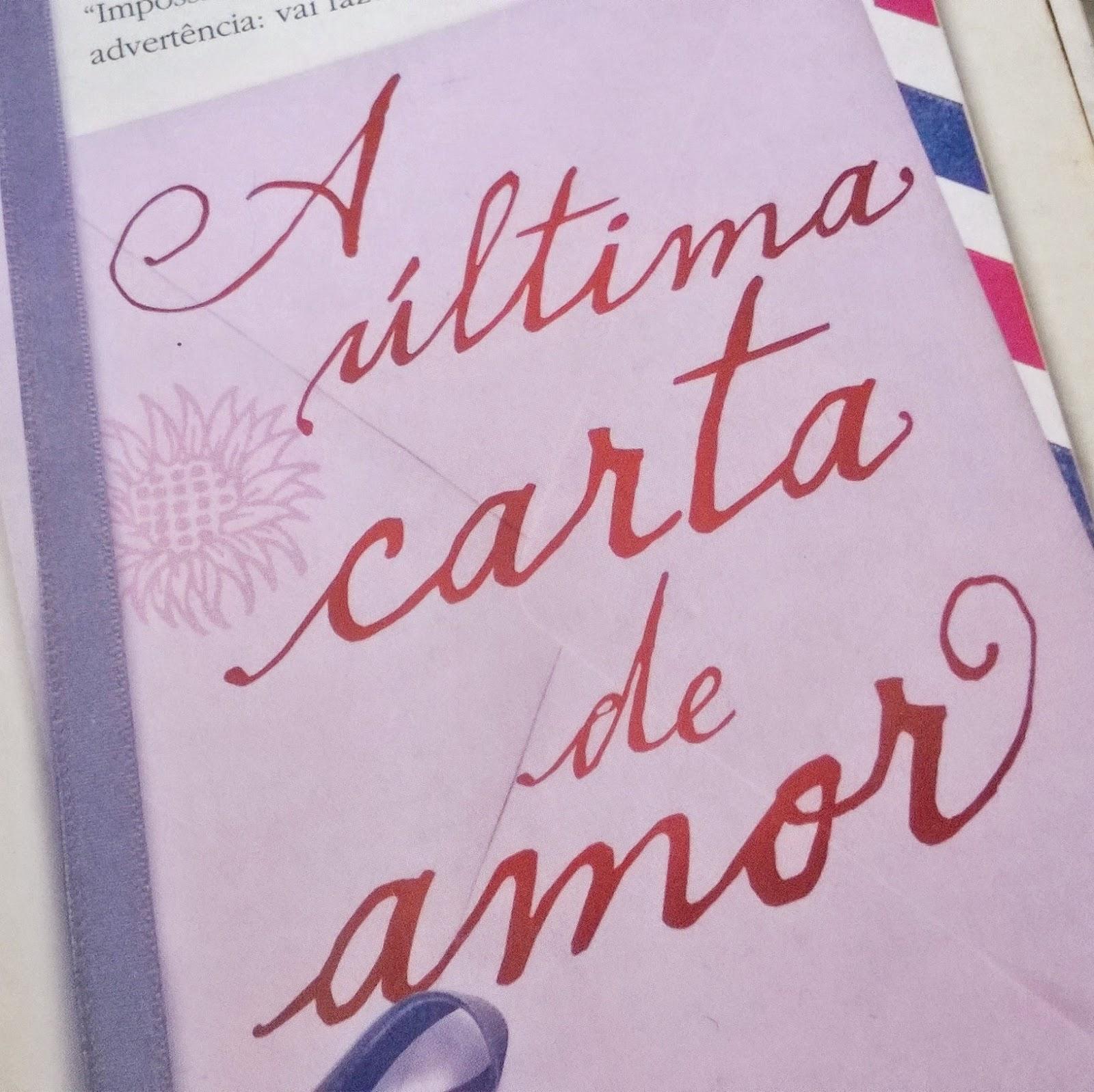 Photobook Project A última Carta De Amor Jojo Moyes Postando