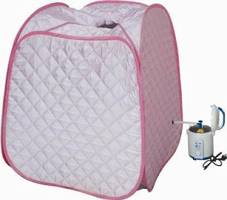 portable steam sauna room murah