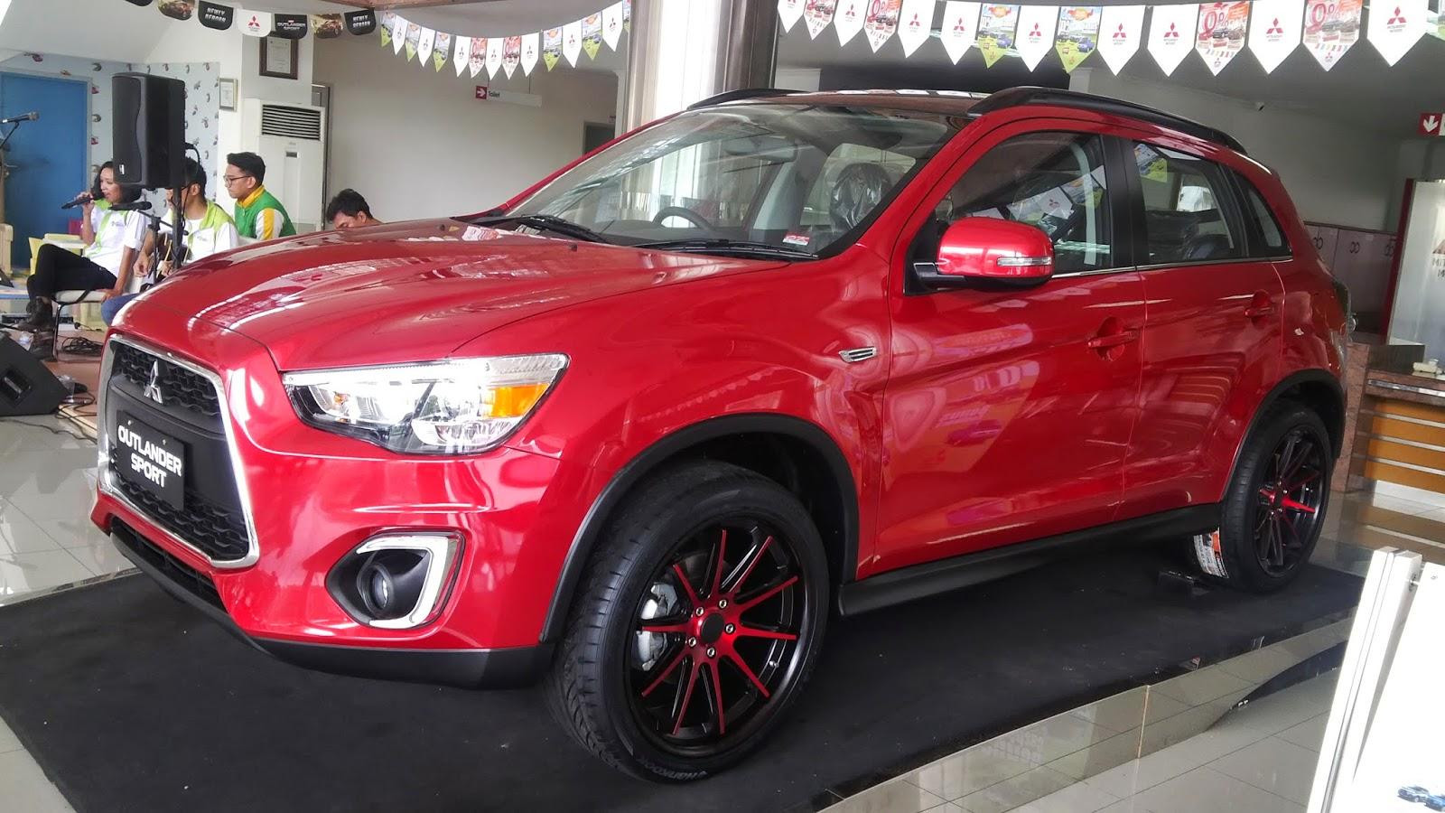Paket kredit cicilan Mitsubishi Outlander Sport Surabaya