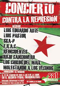 Concierto contra la Represión en Marinaleda